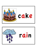 Long Vowel Word Wall Cards (long a)