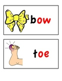 Long Vowel Word Wall Cards (long o)