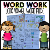 Long Vowel Word Work