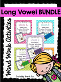 Long Vowel Word Work Activities Bundle