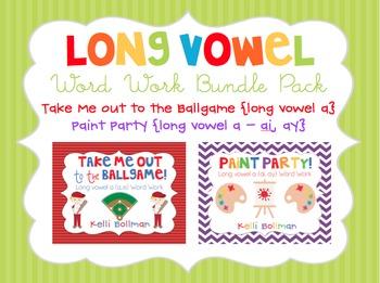 Long Vowel Word Work {Bundle Set}