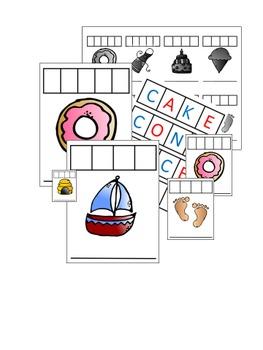 Long Vowel Word Work Cards
