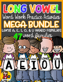 Long Vowel Word Work {MEGA BUNDLE}