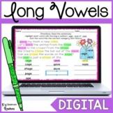Digital Long Vowel Word Work Activity for Google Slides™