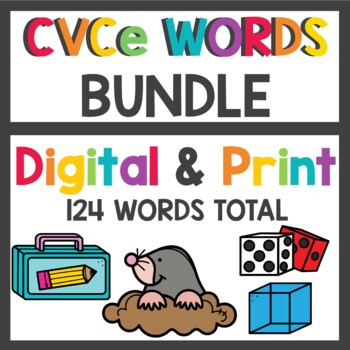 Long Vowel Word Working Mega Bundle