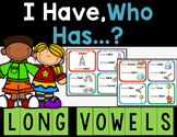 Long Vowels - I Have, Who Has