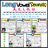 Long Vowel Worksheets {Differentiated*} 92 Pages BUNDLE