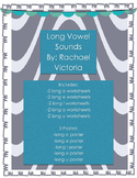 Long Vowel Worksheets & Posters