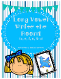 Long Vowel Write the Room Bundle