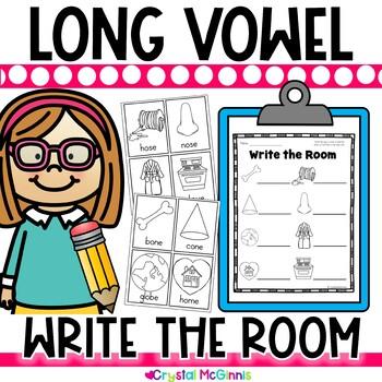 Long Vowel Write the Room (CVC-E and ee)
