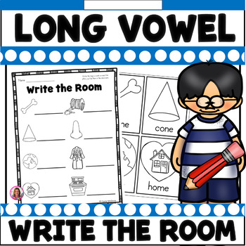 Long Vowel Write the Room (CVC-E and ee)