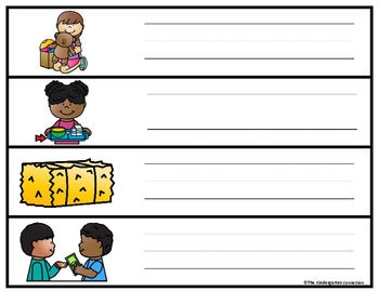 Long Vowel Writing Centers