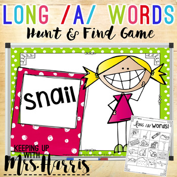 Long Vowel /a/ Hunt & Find Game