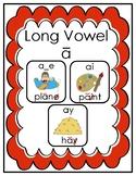 Long Vowel a Practice Pages