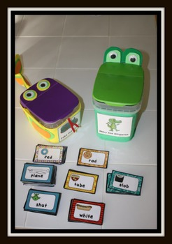 Long Vowel and Short Vowel Sorts: Word Sorts, Flip Books, & Characters