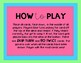 Long Vowel and Silent E Card Game