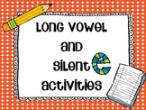 Long Vowel and Silent E- Sparkly E pack