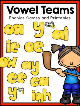First Grade Phonics: Vowel Teams