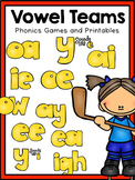 First Grade Phonics: Vowel Teams