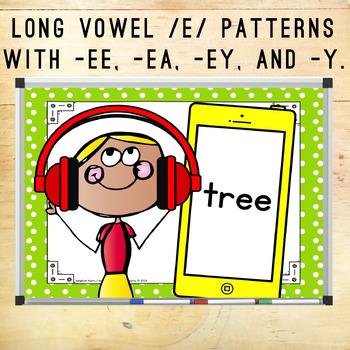 Long Vowel /e/ Hunt & Find Game