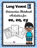Long Vowel e Interactive Notebook