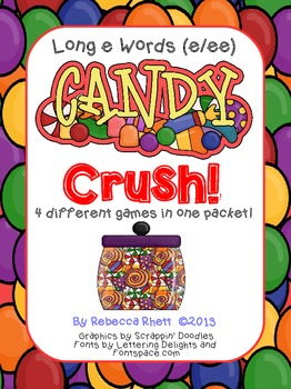 Long Vowel e words- Candy Crush!   (e/ee)