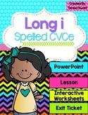 Long Vowel i Magic e Interactive Powerpoint