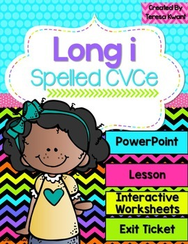 Long Vowel i Magic e Interactive Powerpoint