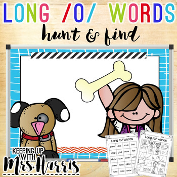 Long Vowel /o/ Hunt & Find Game