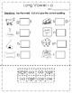 Vowels - Long Vowel o packet