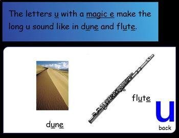 "Long Vowel ""u"" Instruction for the SMART Board"
