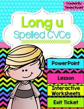 Long Vowel u Magic e Interactive PowerPoint