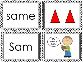 Long Vowel versus Short Vowel (CVC) - Memory Game / Matching Game {Phonics}