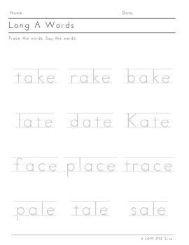 Long Vowels (12 pack)