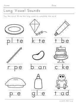 Long Vowels (12 pack)