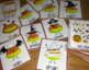Halloween Game: Candy Corn Long Vowels
