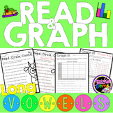 Long Vowels Read and Graph Activities