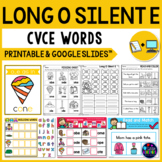 Long Vowel Worksheets (CVCE Worksheets) - Long O Activities