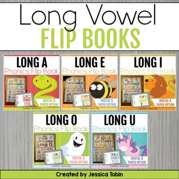 Long Vowels Flip Books