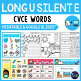 Long Vowel Worksheets (CVCE Worksheets) - Long U Activities