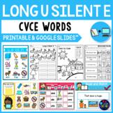 Long Vowel Worksheets (CVCE Worksheets) - Long U Silent E Activities