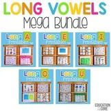 Long Vowels Mega Bundle | Long Vowels Worksheets | Long Vowels Activities