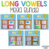 Long Vowels Mega Bundle | Long Vowels Worksheets | Long Vowels Activities