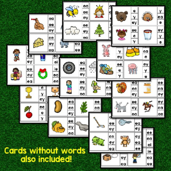 Long Vowel Clip Cards