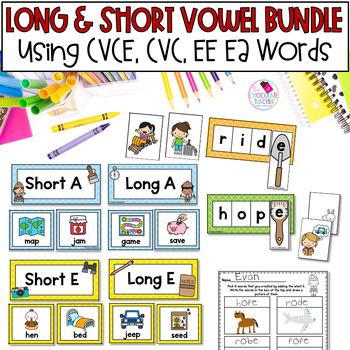 CVCE and EE & EA Long Vowel BUNDLE