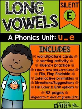 Long Vowels - A Phonics Unit: u_e