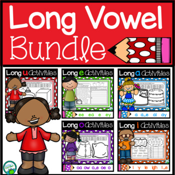 Long Vowels Activities Bundle