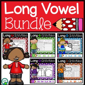Long Vowels Activities Bundle
