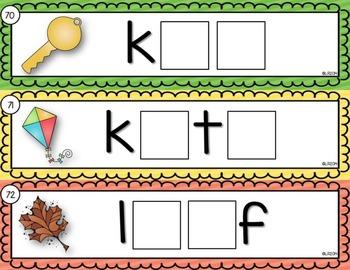Long Vowels Activity Cards