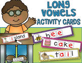 Long Vowels Activity Cards